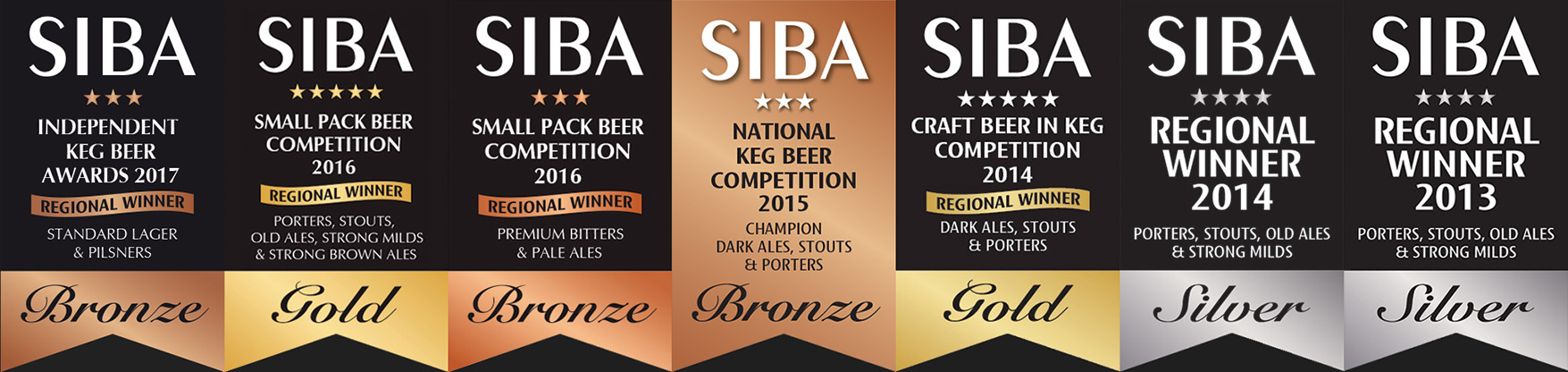 The Hop Studio's SIBA Awards